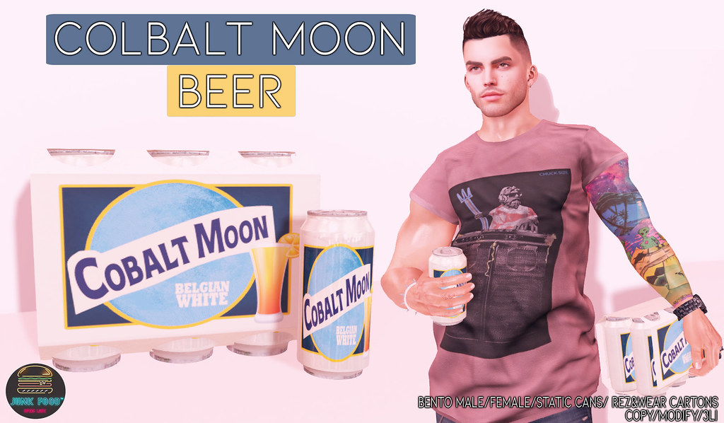 Junk Food – Colbalt Moon Beer Ad