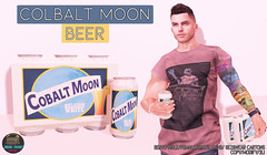 Junk Food - Colbalt Moon Beer Ad