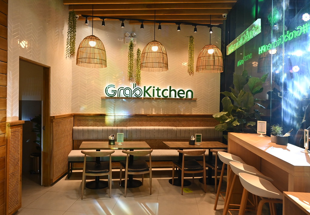 GrabKitchen has an in-store dining capability that offers a unique digital experience through a self-order kiosk