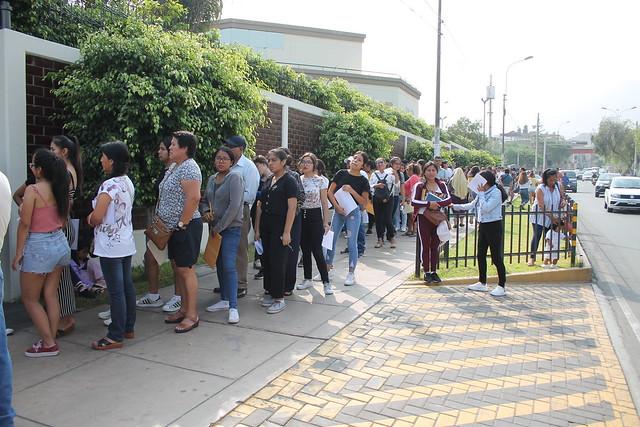 Universidad de San Martín de Porres desarrolló su Examen de Admisión 2020 – I