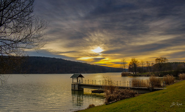 Téli naplemente -  Winter sunset (2020.02)