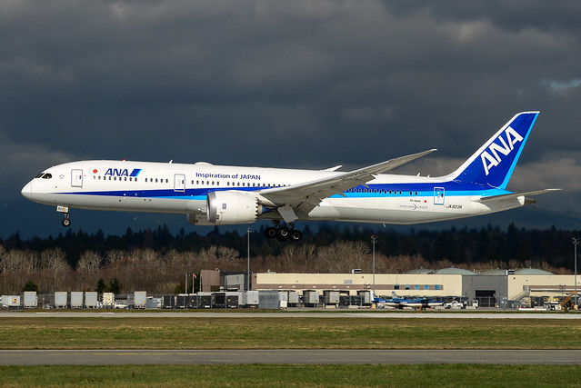 CYVR - All Nippon Airways B787-9 Dreamliner JA923A