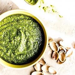 Dreamy Gluten-Free Spinach Pesto