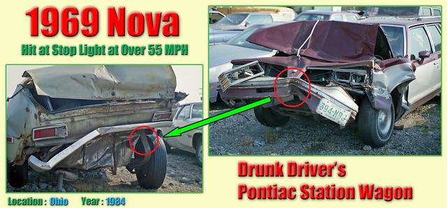 1969 Chevy Nova Wrecked by a Drunk Driver in 1984 (#1)