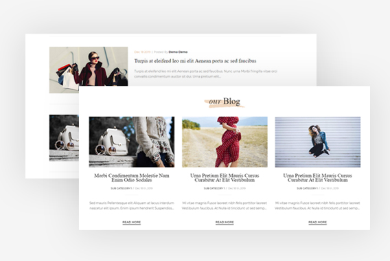 Leo Curator Fashion PrestaShop Theme - Engage More Traffics Via Blogs