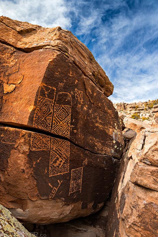Cracked Boulder Panel