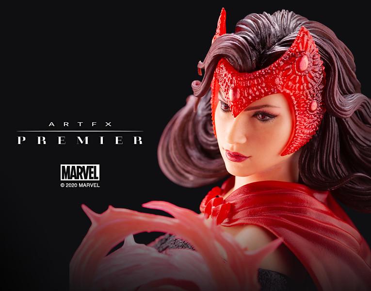 壽屋 ARTFX PREMIER 系列 Marvel Universe【緋紅女巫】スカーレット・ウィッチ 1/10 比例 PVC塗裝完成品
