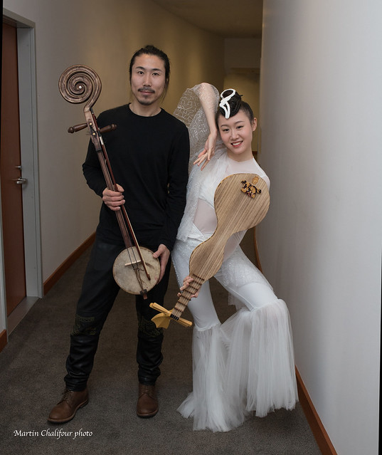 2019 Centennial season highlight for me: great composition by Tan Dun (Buddha Passion) : dancer Chen Yining and