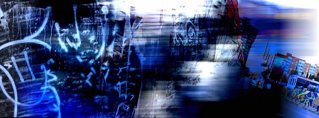 Urban Blue Corridor