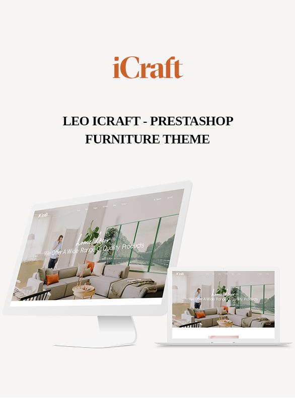 Leo ICraft Prestashop Furniture Theme