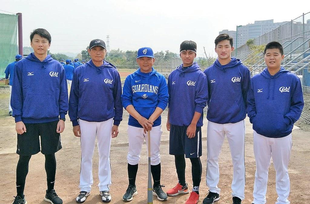 中華隊展開第1階段集訓。(中職聯盟提供)
