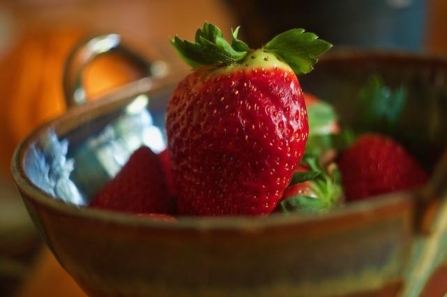 A Big Strawberry