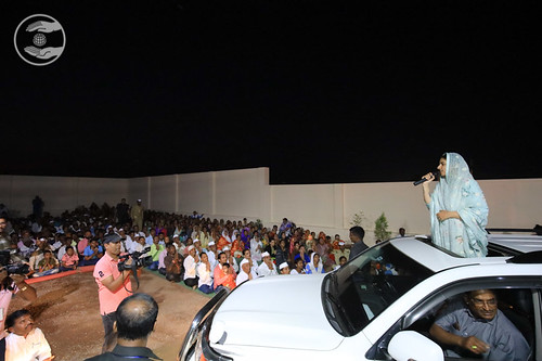 Blessings by Satguru Mata Ji at Naraingaon Satsang Bhawan