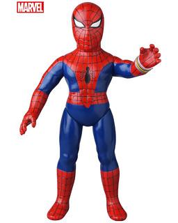 是那位駕駛巨大機器人擊敗壞蛋的蜘蛛人! MEDICOM TOY「東映蜘蛛人」(東映テレビシリーズ スパイダーマン) 軟膠人偶