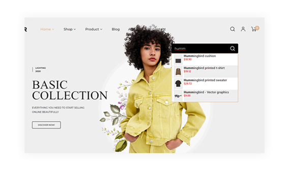 Leo Curator PrestaShop Fashion Store Theme with Ajax Product Search