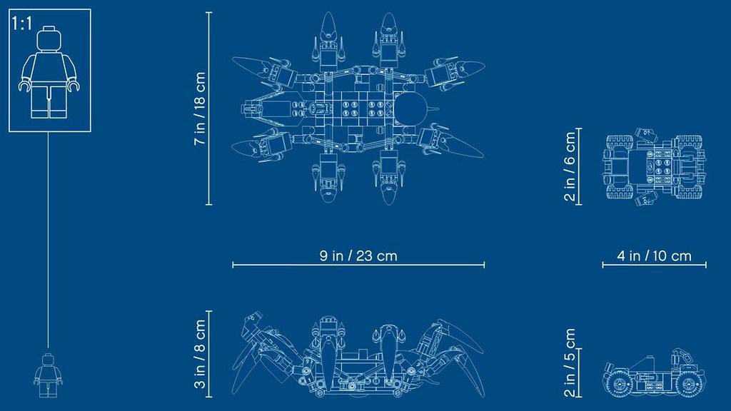 全新的「鋼鐵猛毒」人偶登場! LEGO 76163 漫威超級英雄系列【猛毒爬行機】Venom Crawler