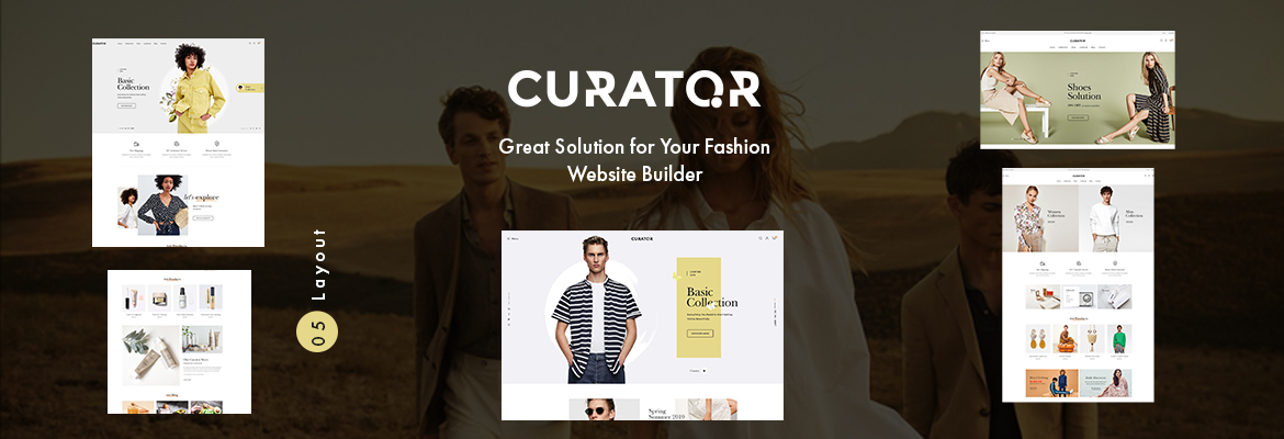 Leo Curator - PrestaShop Fashion Template