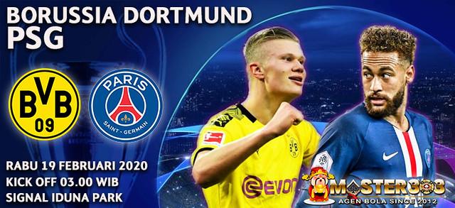 Prediksi Borussia Dortmund vs PSG 19 Februari 2020 : Duel Haaland vs Mbappe