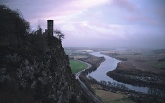 The Softness: 1: Pink Skies over Kinnoull Hill