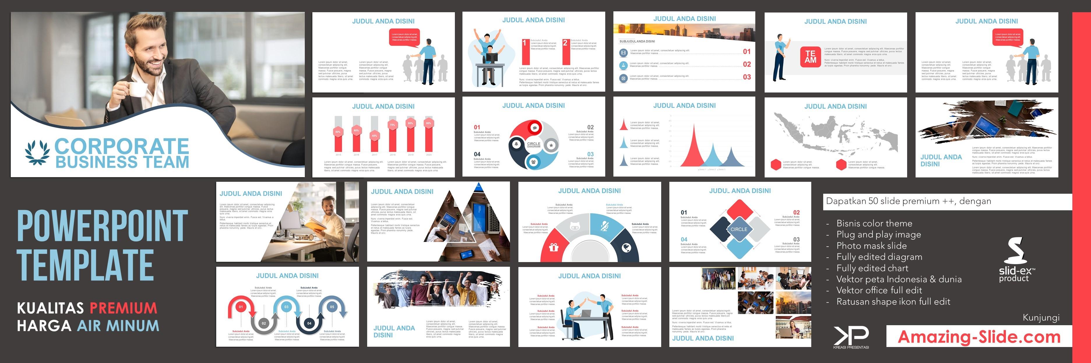Template Kreasi Presentasi di Amazing Slide