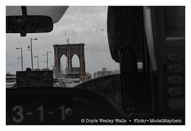 Brooklyn Bridge, from My Taxi