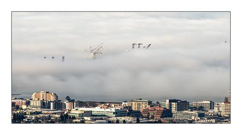 portofoakland sanfranciscobay berkeley fog