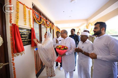 Inauguration of Newly constructed Satsang Bhawan Jai Jawan Nagar