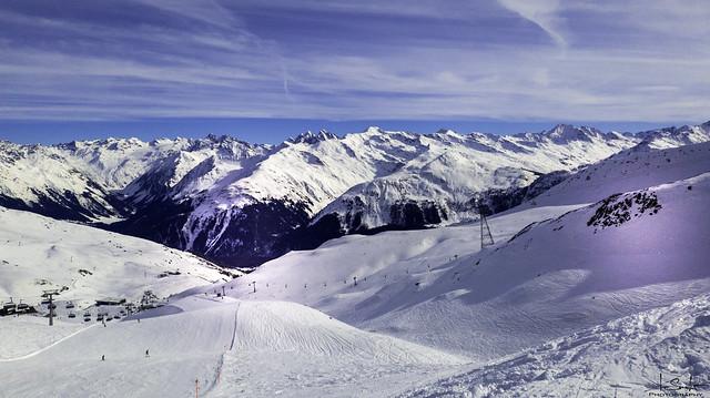 Skiing in Davos-Parsenn - Graubünden - Switzerland