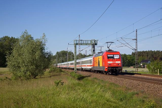 DB 101 119 Luther + Lz Wittenberg - Berlin Südkreuz + 101  - Trebbin