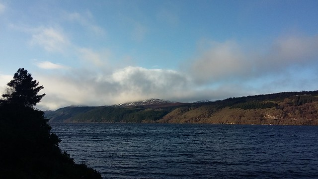 View across Loch Ness, Jan 2020