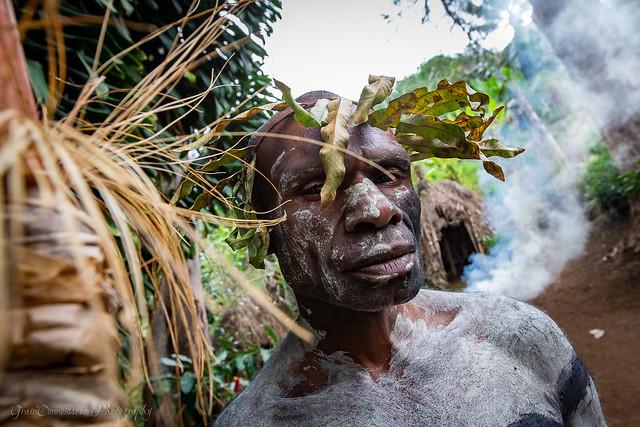 Asaro mud man village, PNG