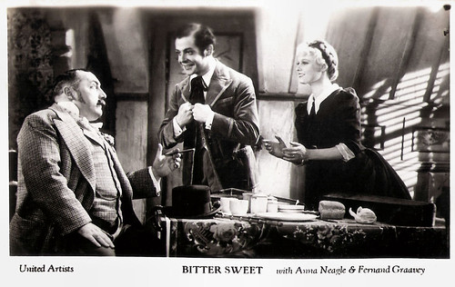Anna Neagle and Fernand Gravey in Bitter sweet (1933)
