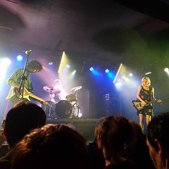 Four years ago today. First time I saw Sunflower Bean