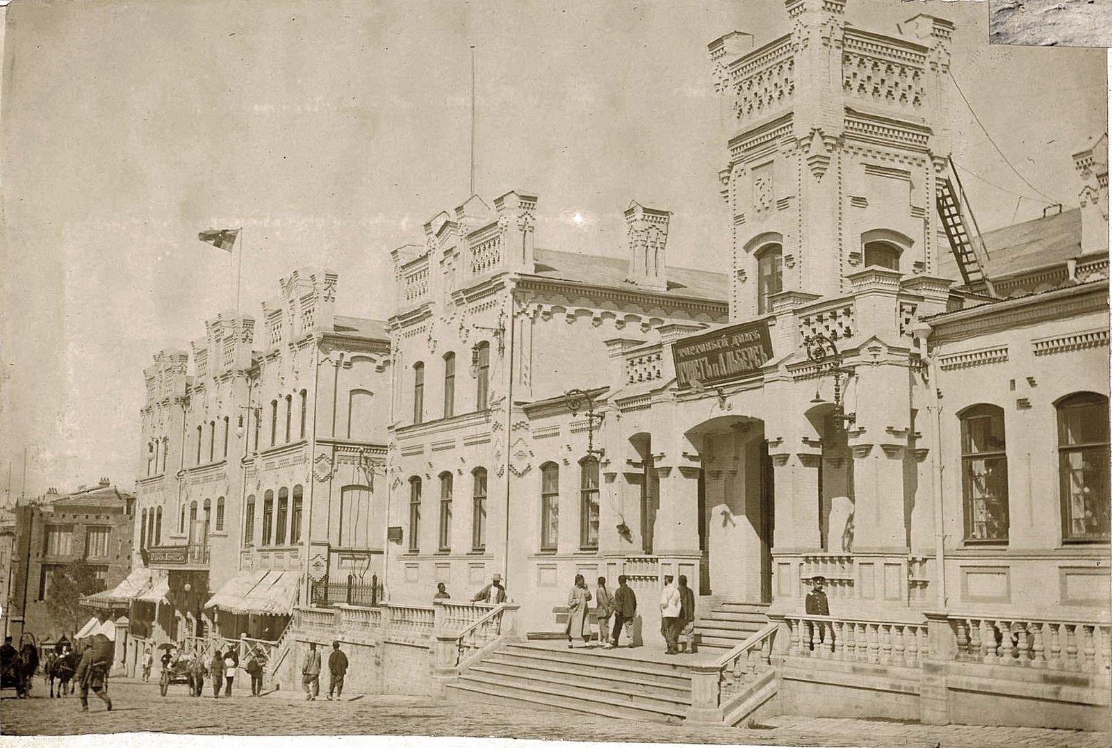 Владивосток. Здание торгового дома «Кунст и Альберс»