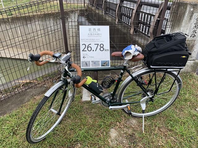 大落古利根川 始点(中川合流点)から26.78km