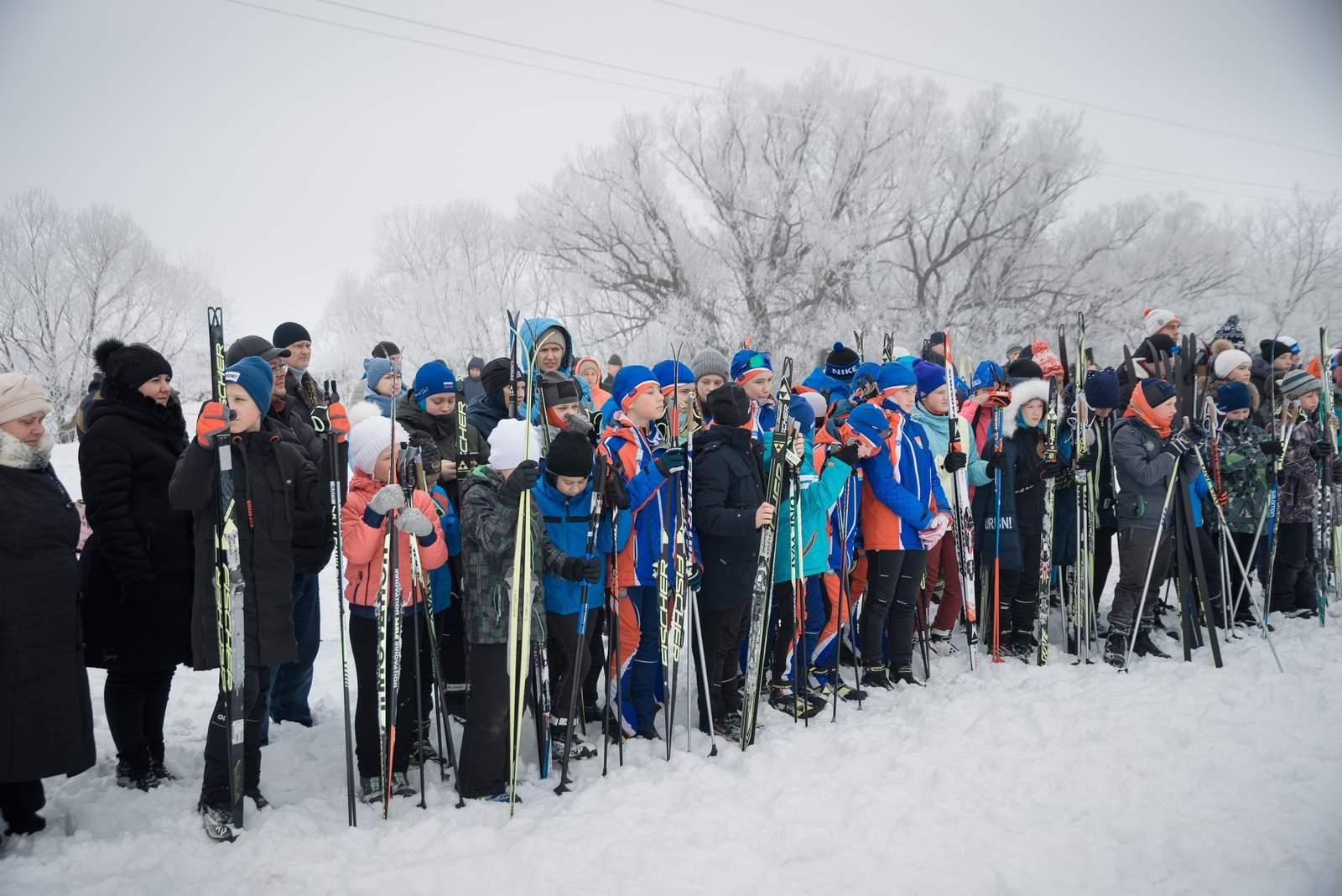 «Рыбаковская лыжня» 16 февраля 2020 года на территории музея-заповедника «Тарханы». Фотограф Александр Семенов
