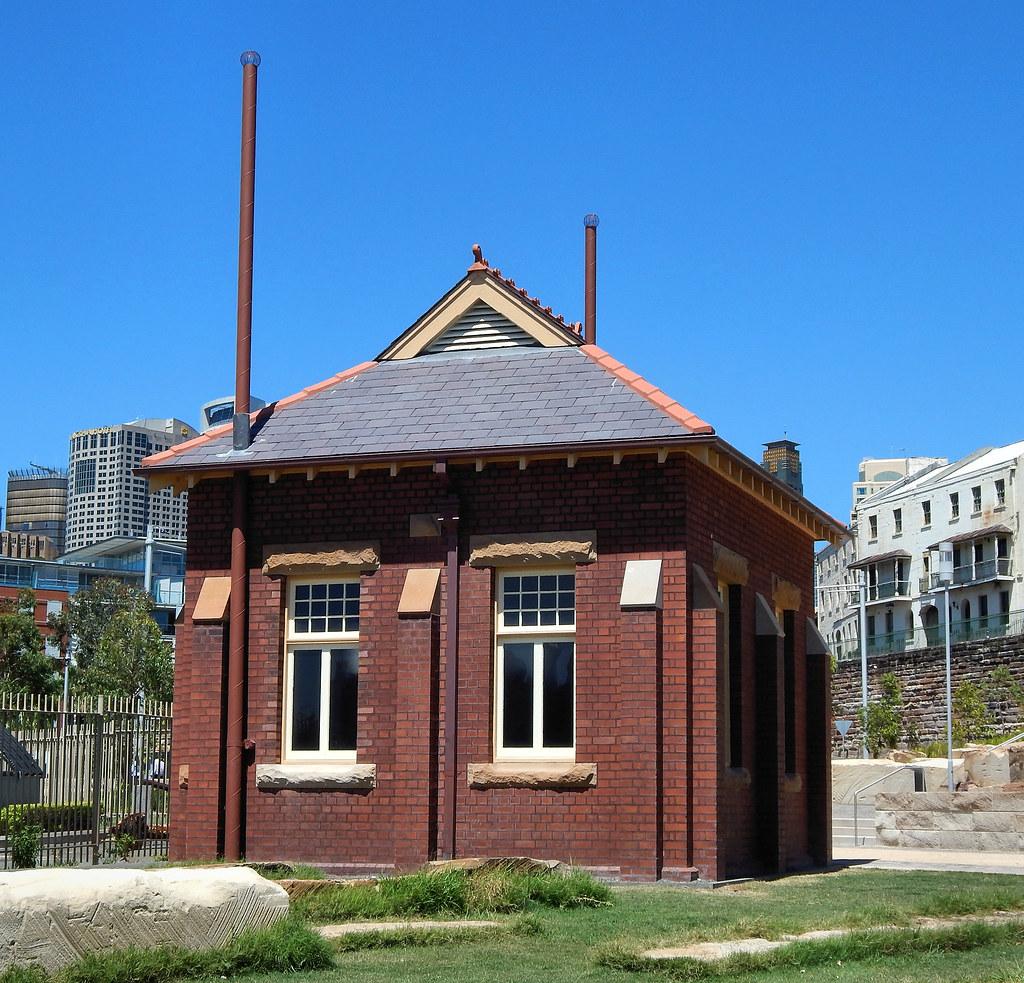 Toilet Block, Barangaroo, Sydney, NSW.