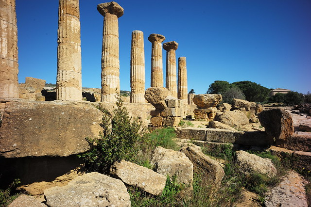 Temple  of Hercules, Valle dei Templi, Agrigento, Sicily, February_2020_031