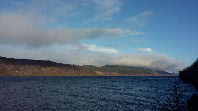 View over Loch Ness, Jan 2020
