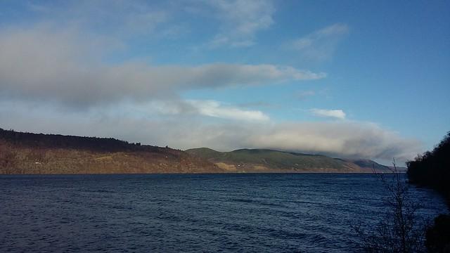 View over Loch Ness, Jan 2020