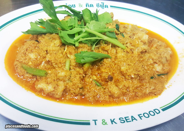 t&k curry crab