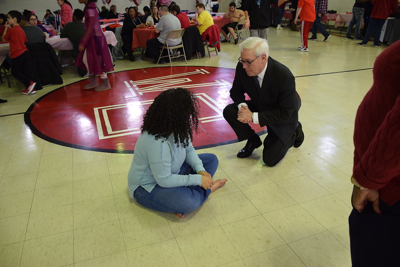 Valentine's Lunch at Woodhaven Education Center - 2/14/20