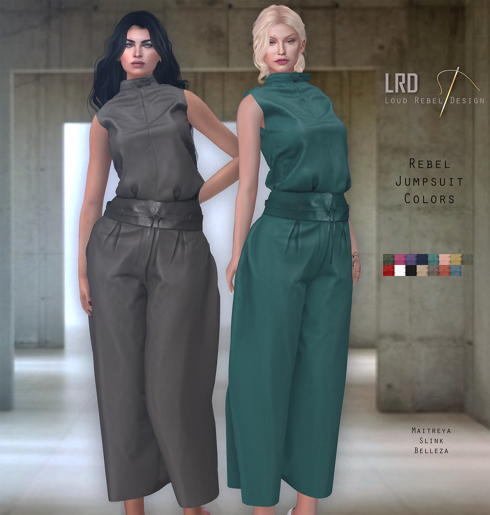 Rebel Jumpsuit for Mainstore and Sense event