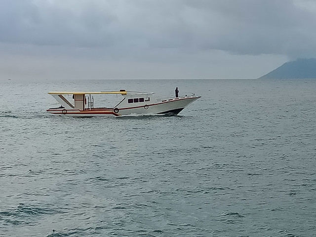 Boat off Manado