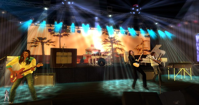 The Eagles Tribute 2-17-2020 Live @ Satans Warriors MC in Second Life in Thunder Rock Concerts