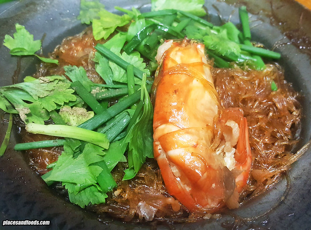 t&k Goong Ob Woonsen prawn in glass noodles