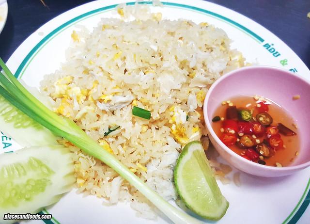 t&k crab fried rice
