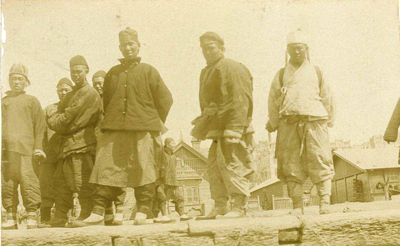 Рабочие. 1901.