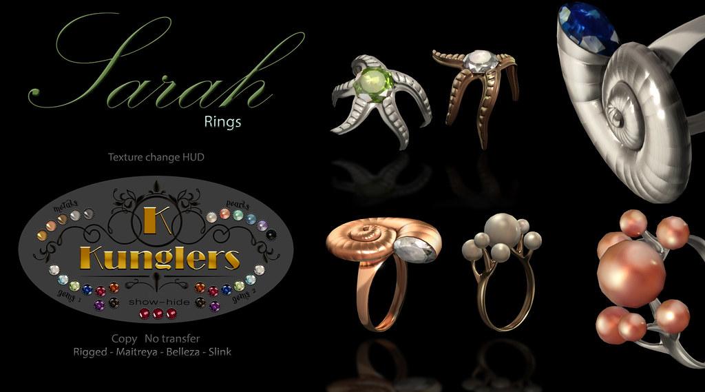 KUNGLERS – Sarah rings