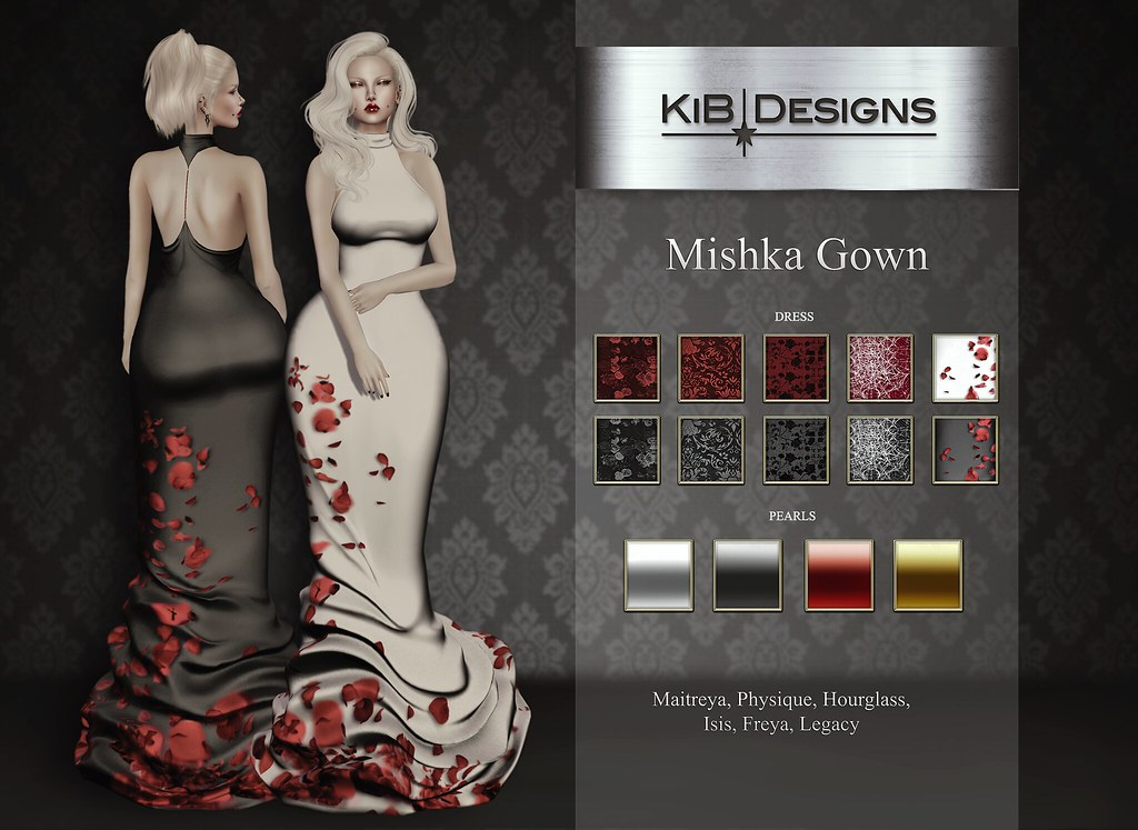 KiB Designs - Mishka Gown @Aenigma Event